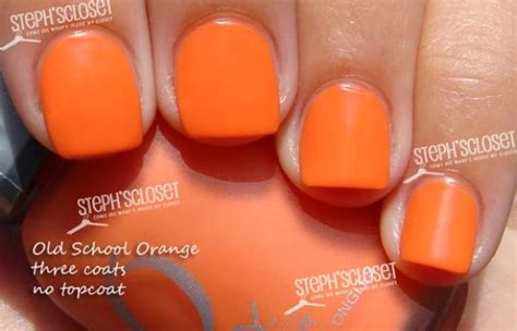 Best 25+ Orange Nail Polish Ideas On Pinterest