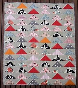 modern flying geese quilt pattern pdf file pepper