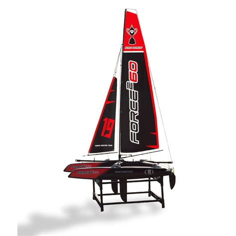 Joysway Catamaran Sailboat by Joysway 8806 Force2 60 2 4ghz Catamaran Rtr Ac45 Rc Yacht