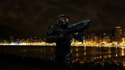 Halo Battle Space Wallpapers Soldier Epic Spartan