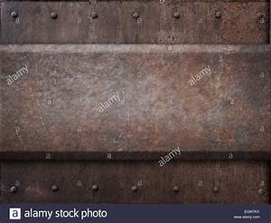 Rusty Tank Armor Metal Texture With Rivets As Steam Punk ...