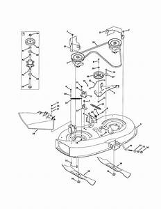 Mtd Model 13am772s055 Lawn  Tractor Genuine Parts