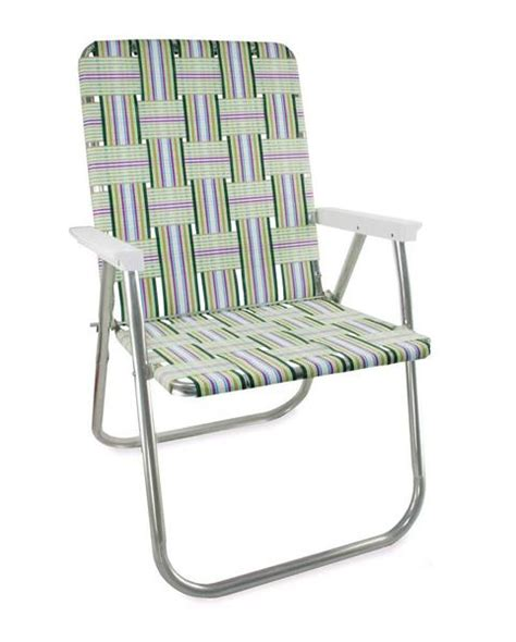lawn chair usa fling folding aluminum webbing chair