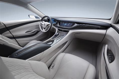 buick avenir concept interior materials detailed  buick