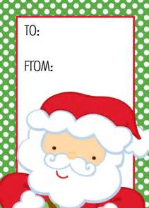 christmas santa gift tag christmas gift tags tags pinterest santa gifts gift and