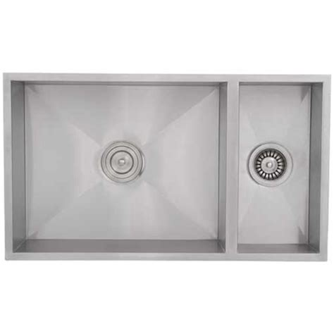 square kitchen sink ticor s6502 undermount stainless square kitchen sink 2447