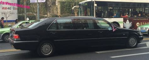 Spotted In China W140 Mercedesbenz S600 Pullman