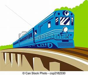 Passenger train clipart - Clipground
