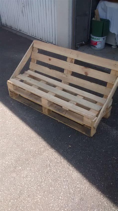 construire un canape avec des palettes banquette de jardin en palette home project