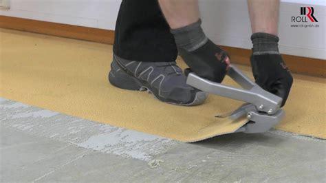 Verklebten Teppichboden Lösen by Teppichboden Entfernen Maschine Teppichboden Entfernen