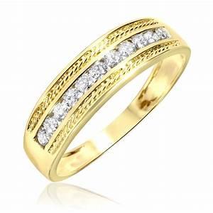 Amazing Mens Gold Wedding Bands Under 100