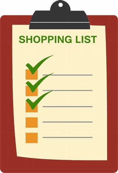 Shopping Clipboard Clipart Svg