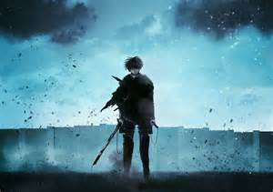 Levi Attack On Titan Ackerman Wallpaper