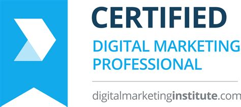 digital marketing course information certified digital marketing professional college of