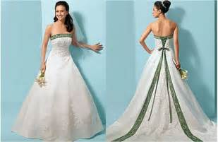green wedding dresses white and green wedding dresses