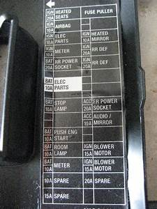 2012 Nissan Altima Fuse Replacement Guide 012 2007 Box Sentra Image