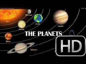 Planets in Solar System - Names of Planets for Kids - YouTube