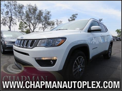 2017 jeep compass latitude black 2017 jeep compass latitude 7j0308 chapman automotive