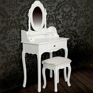 Schminktisch Weiß Mit Spiegel : der schminktisch wei mit spiegel und hocker online shop ~ Bigdaddyawards.com Haus und Dekorationen