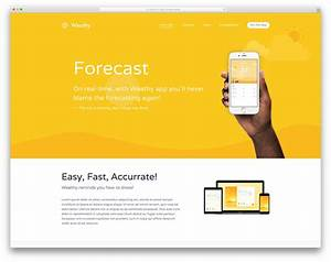wordpress squeeze page template - 40 best landing page wordpress themes for apps products