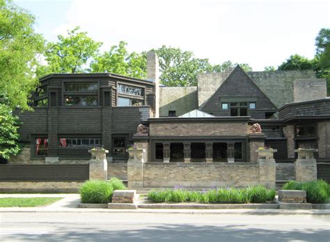 L Home Design Chicago : Frank Lloyd Wright, Architect. I Fell In Love