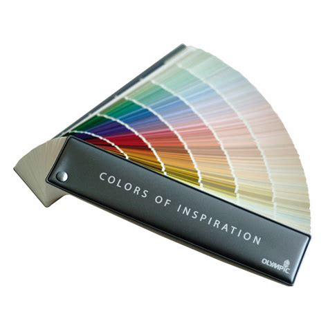 how to use a paint color fan deck shop olympic 1224 color paint fan deck at lowes