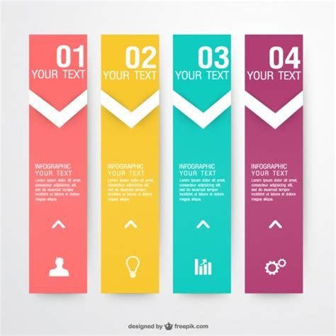 Box File Label Template Word by Colorful Shopping Banners Vector Free