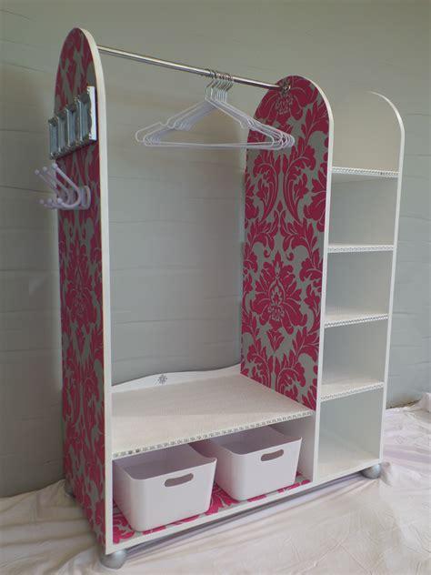 ana white dress  station diy projects
