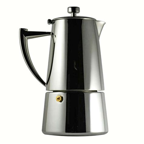 Cafetière Italienne Inox Cafeti 232 Re Italienne D 233 Co 10 Tasses