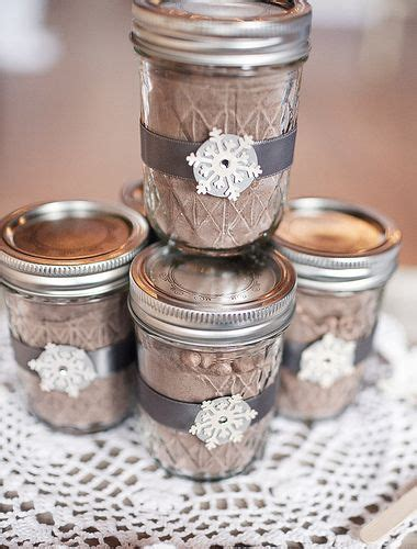 Hot Chocolate In Mason Jars Ts In A Jar And More