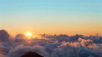 Sunrise Sun Sky Clouds 4k Uhd Widescreen