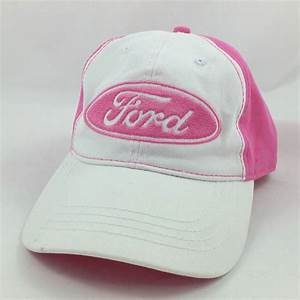 Ford Mustang Pony Pink White Baseball Cap Hat Adjustable #Ford #BaseballCap (With images ...