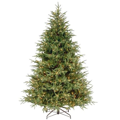 home accents holiday 75 frasier fir national tree company 7 5 ft frasier grande artificial tree with clear lights pefg3