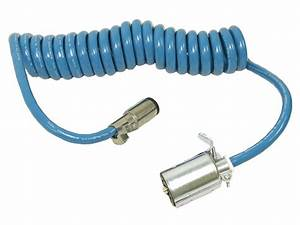 Blue Ox Bx88206 Coiled Electrical Cable