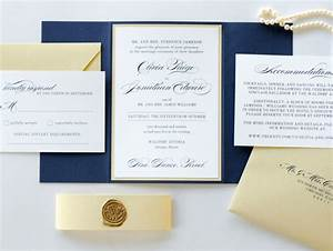 navy blue gold shimmer and ivory wedding invitation with With cost of 150 wedding invitations