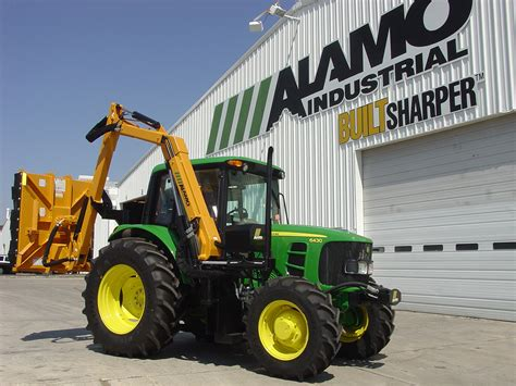 Alamo Industrial: Products - Boom Mowers > Mid Mount