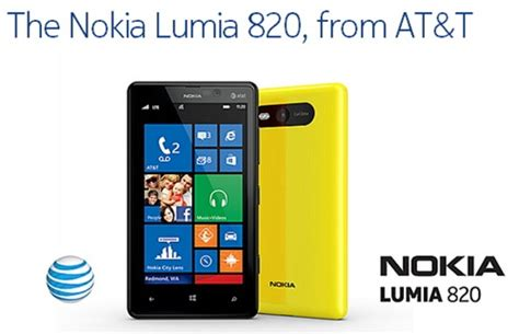 nokia lumia 820 at t is detailed here expected next month blugga