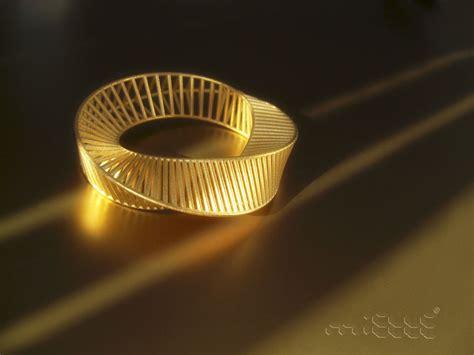 Mobius Bracelet Gold | miette.fr
