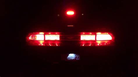 dodge challenger srt led tail lights youtube
