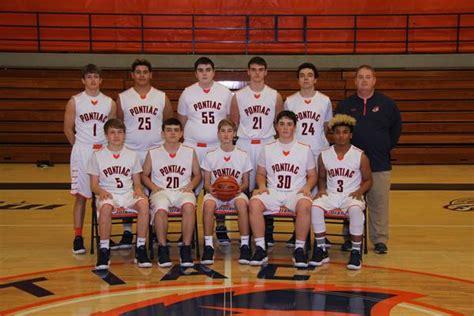 pontiac high school boys sophomore basketball winter schedule