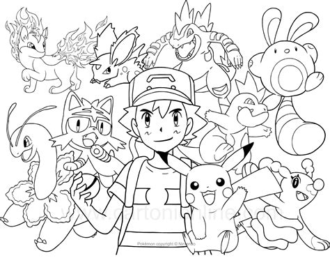 immagini di pokémon da disegnare disegno dei da colorare