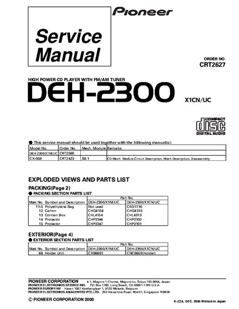 pioneer deh 3400ub wiring diagram electrical schematic