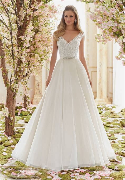 Mori Lee Voyage 6836 Wedding Dress