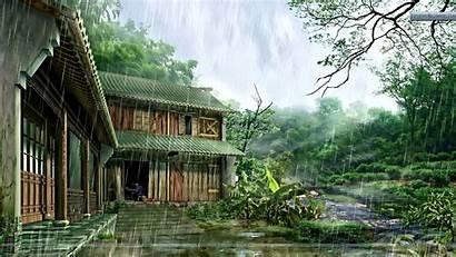 Nature Rainy Wallpapers Rain Desktop Happy Pc