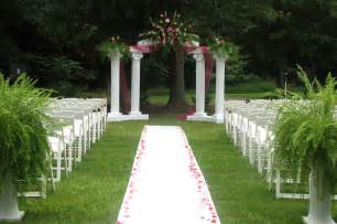backyard wedding decor outdoor wedding decoration ideas ideas