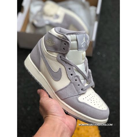Air Jordan 1 Colocasia Grey Purple Air Jordan 1 1aj1 This