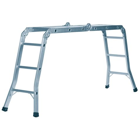 aluminium ladder bunnings bunnings syneco syneco 3 7m 120kg aluminium multifold