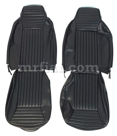 Fiat Spider Seats by Fiat 850 Spider Usa Black Seat Covers New Ebay