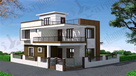 Modern Duplex House Design Pictures  Youtube