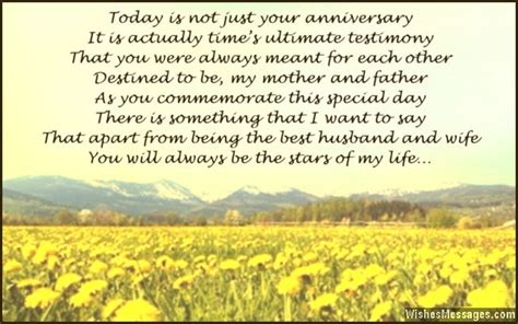 anniversary poems  parents happy anniversary mom  dad page  wishesmessagescom